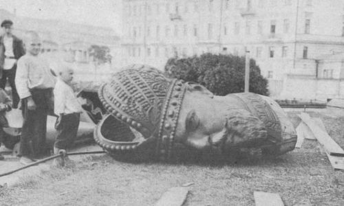 Rivoluzione russa: la rivoluzione di febbraio.