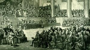 Rivoluzione francese: l'Assemblea Nazionale.
