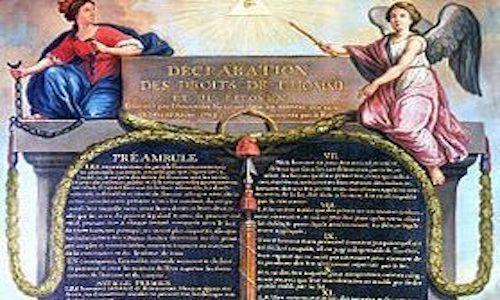 La Dichiarazione dei diritti dell'uomo