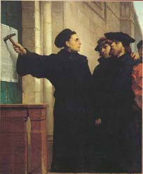 Martin Lutero, Le 95 Tesi di Wittemberg