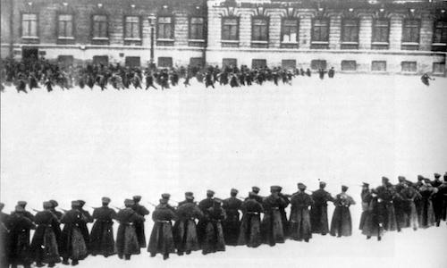 La rivoluzione del 1905.