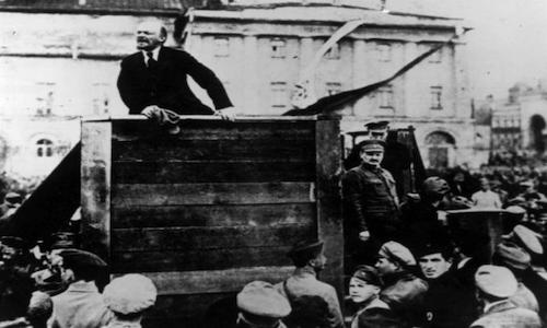 Il governo bolscevico.