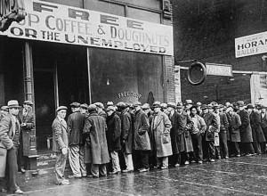 Le conseguenze del crollo di Wall Street.