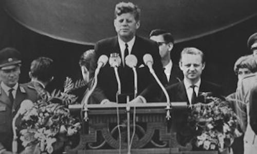 Kennedy Ich bin ein Berliner!