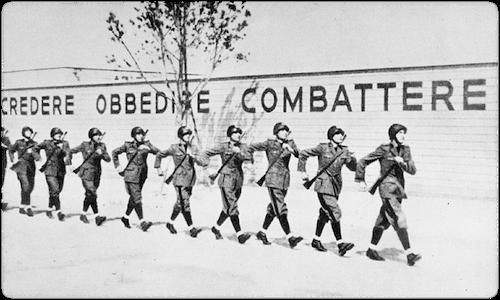 Credere obbedire combattere. Il fascismo e i giovani.
