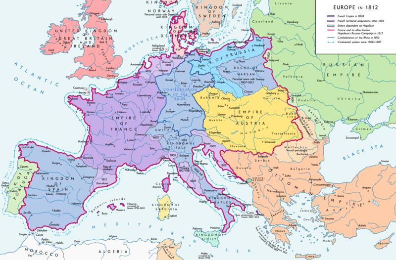 europa napoleonica