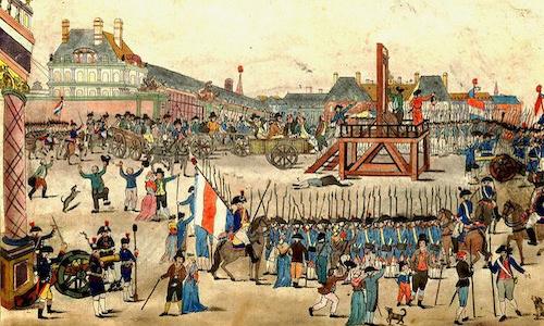 La caduta di Robespierre e il Direttorio.